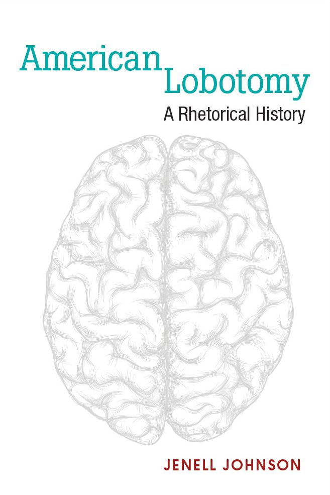 Book cover image shows a gray sketch of a a brain against a white background.